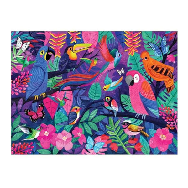 Crocodile Creek Puzzle 500pc Birds of Paradise