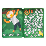 Petit Collage Hang On, Monkey Magnetic Travel Game