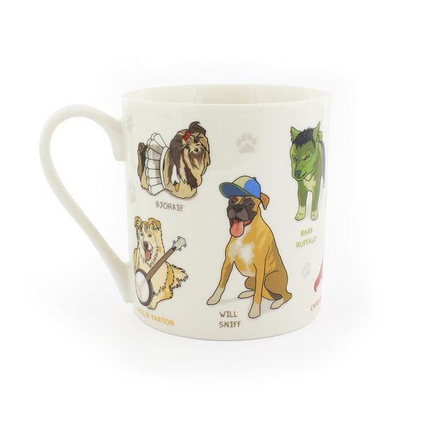 Midoco.ca: Ginger Fox Celebrity Dogs Mug