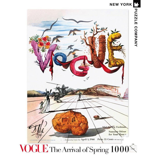 New York Puzzle 1000pc Dali Arrival of Spring