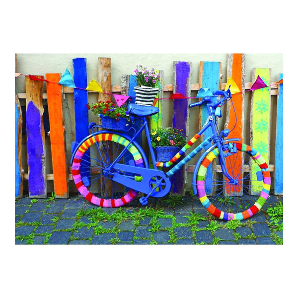 Playful Pastimes Puzzle 1000pc Groovy Bicycle