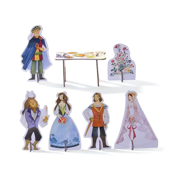 Midoco.ca:Crocodile Creek Beauty and the Beast Puzzle & Play Set