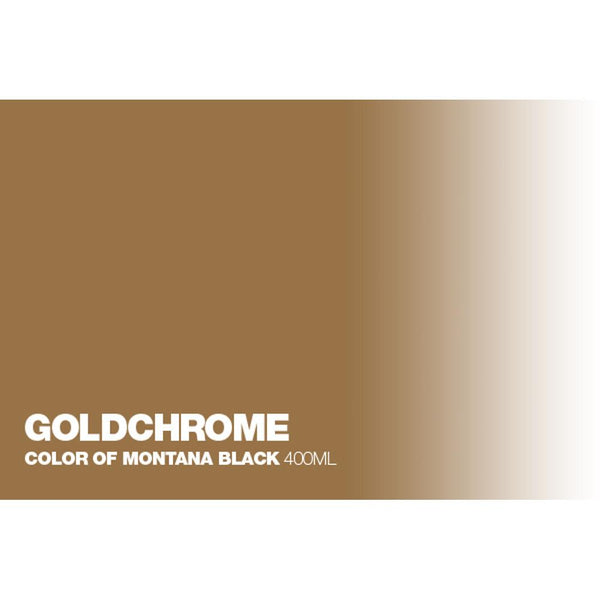 Montana Black 400mL Spray Paint - Goldchrome