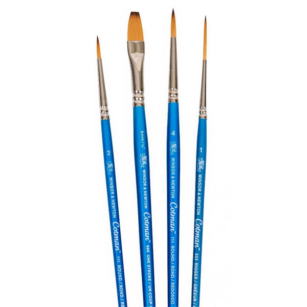 Winsor & Newton Cotman Brush 4pk Set