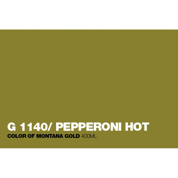 Montana Gold 400mL Spray Paint - Pepperoni Hot