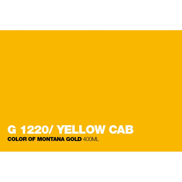 Midoco.ca: Montana GOLD 400mL Spray Paint - Yellow Cab