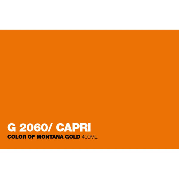Montana Gold 400mL Spray Paint - Capri