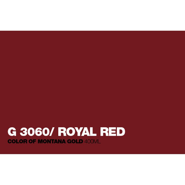 Midoco.ca: Montana GOLD 400mL Spray Paint - Royal Red