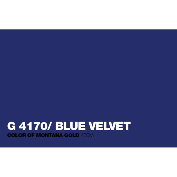 Montana Gold 400mL Spray Paint - Blue Velvet