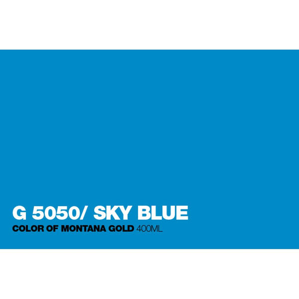 Montana Gold 400mL Spray Paint - Sky Blue