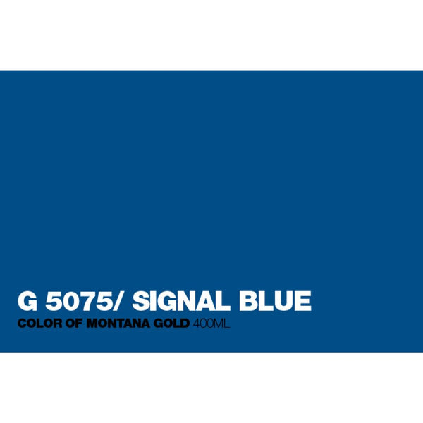 Montana Gold 400mL Spray Paint - Signal Blue