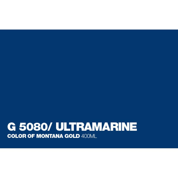 Midoco.ca: Montana GOLD 400mL Spray Paint - Ultramarine