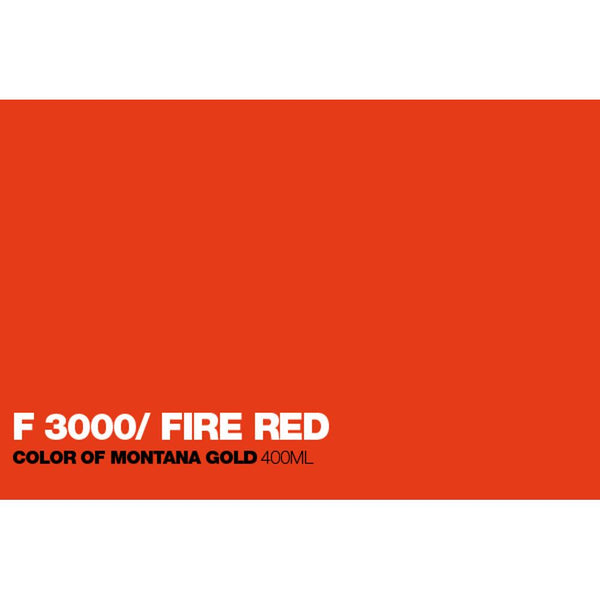 Montana Gold 400mL Spray Paint - Fire Red