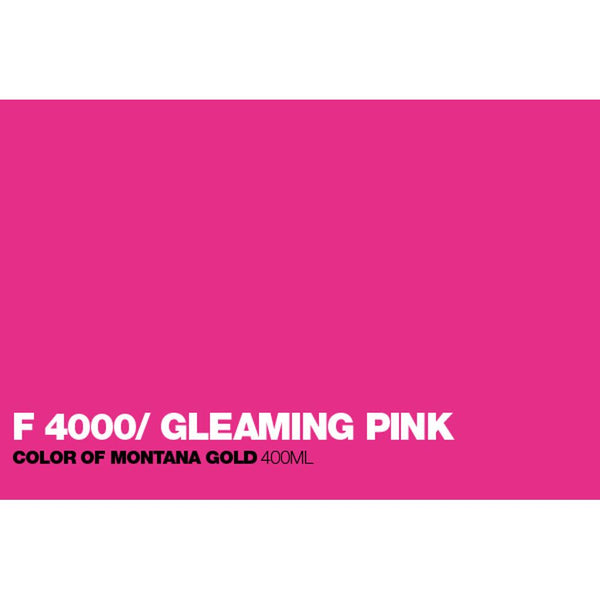 Midoco.ca: Montana GOLD 400mL Spray Paint - Fluorescent Gleaming Pink