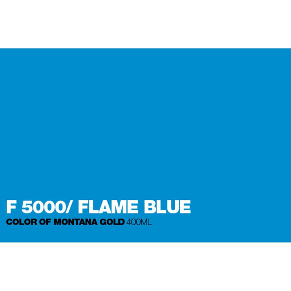 Midoco.ca: Montana GOLD 400mL Spray Paint - Fluorescent Flame Blue