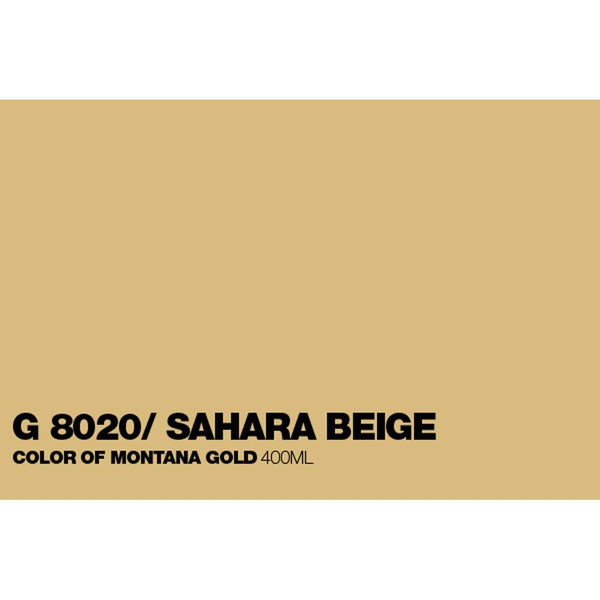 Midoco.ca: Montana GOLD 400mL Spray Paint - Sahara Beige