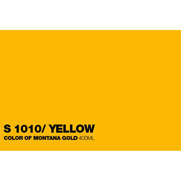 Montana Gold 400mL Spray Paint - Shock Yellow