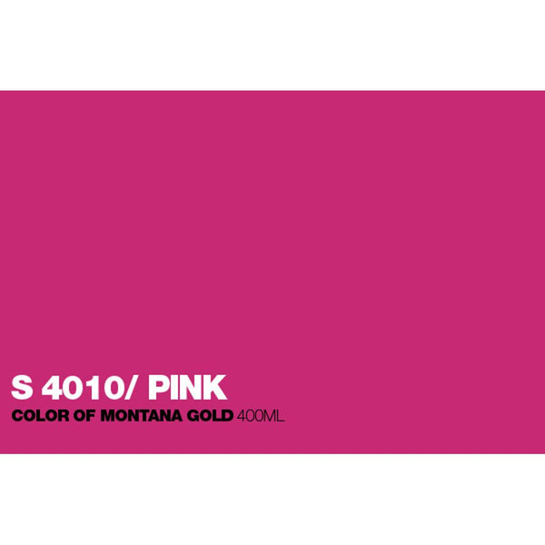 Montana Gold 400mL Spray Paint - Shock Pink