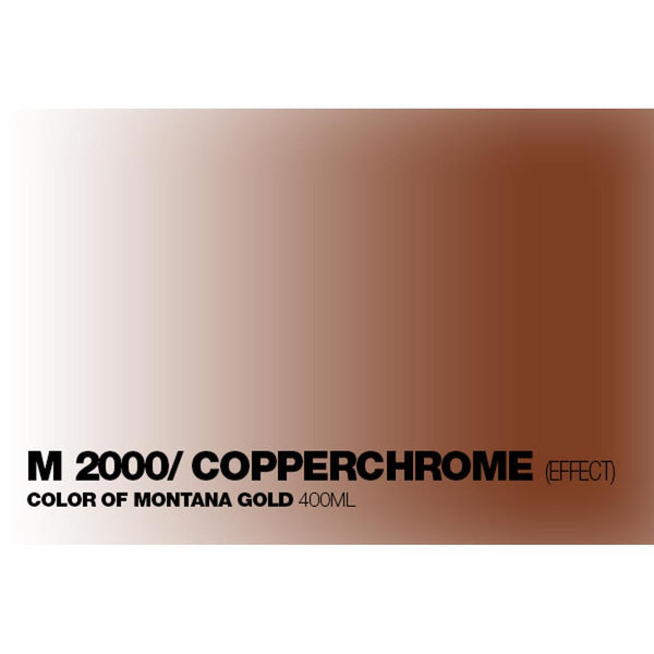 Montana Gold 400mL Spray Paint - Copperchrome