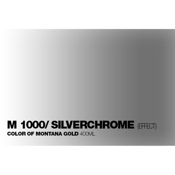 Midoco.ca: Montana GOLD 400mL Spray Paint - Silverchrome