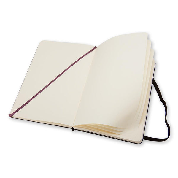Moleskine Plain Large Notebook - Black