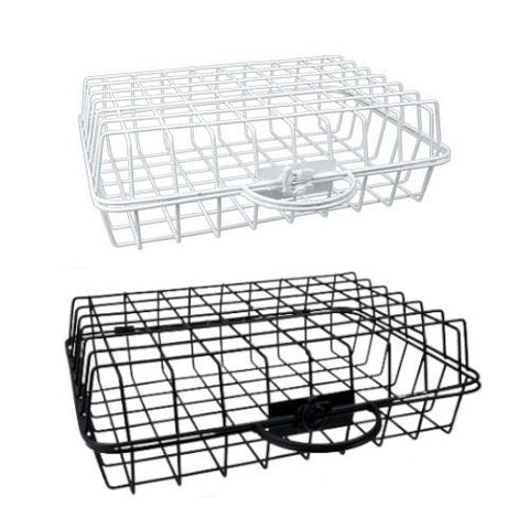 "CTG Metal Storage Basket 13"" - Black or White"