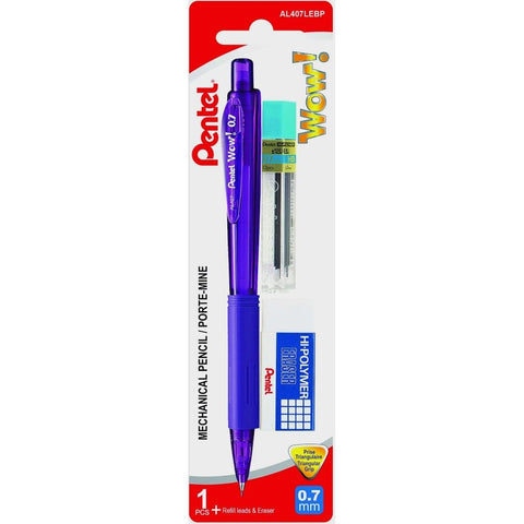 Pentel Wow! 0.7mm Mechanical Pencil Beginner Set