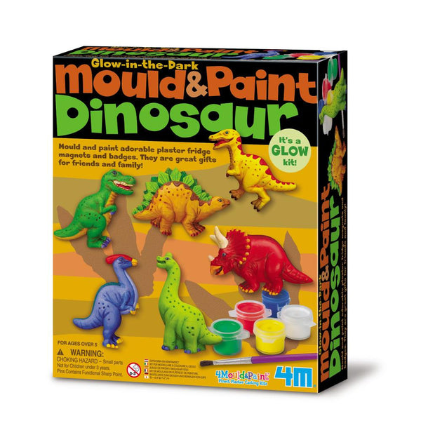 Midoco.ca: 4M Mould & Paint Dinosaur Kit