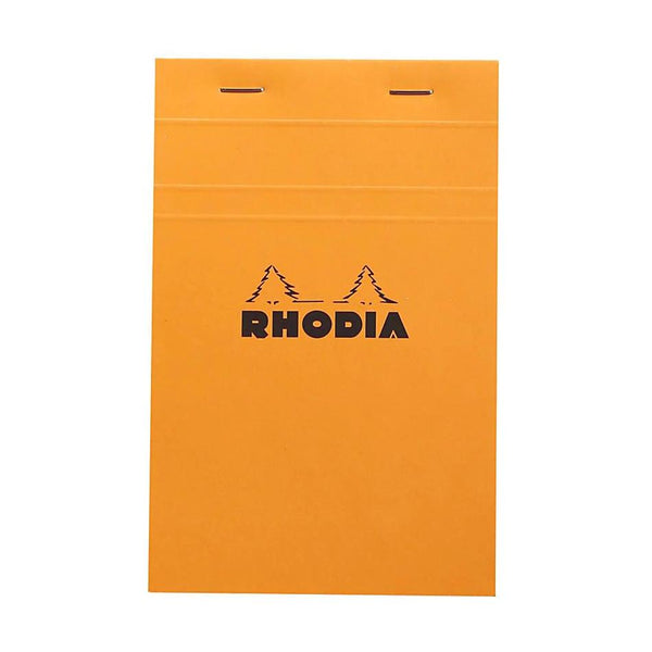 Midoco.ca: Rhodia #14 Grid Notepad - Orange