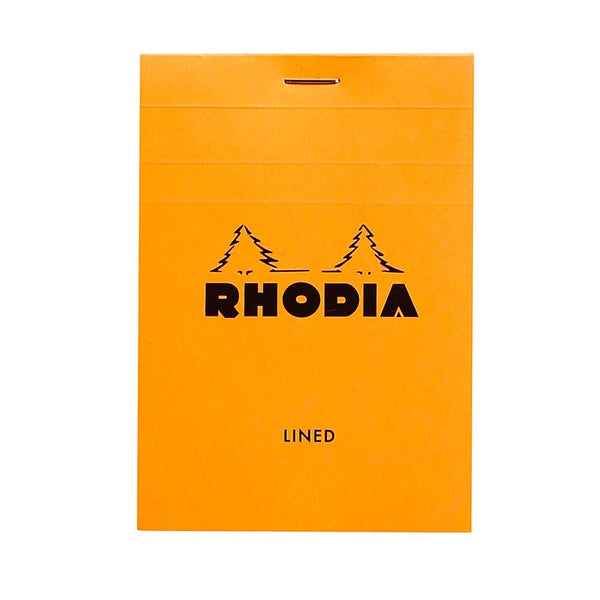 Midoco.ca: Rhodia #12 Ruled Notepad - Orange