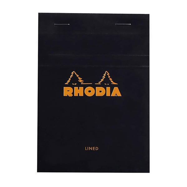 Midoco.ca: Rhodia #13 Ruled Notepad - Black