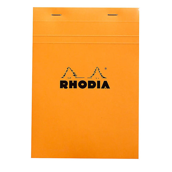 Midoco.ca: Rhodia #16 Grid Notepad - Orange
