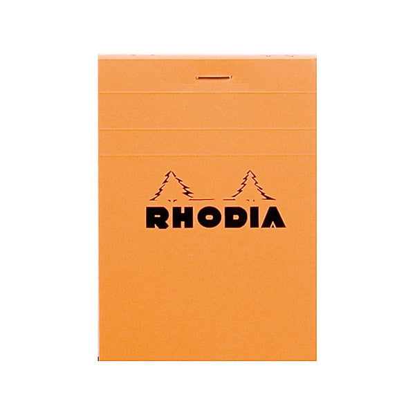 Midoco.ca: Rhodia #12 Grid Notepad - Orange
