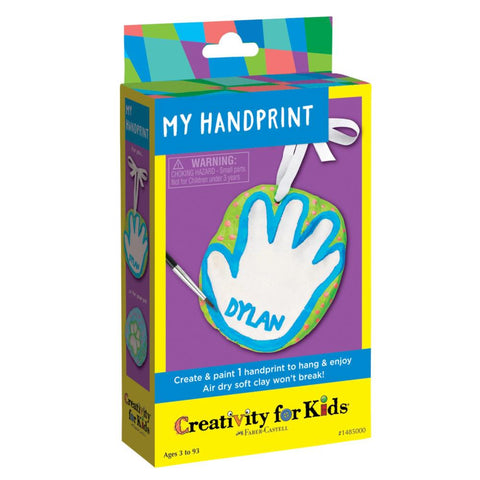 Creativity 4 Kids Air Dry Handprint Kit