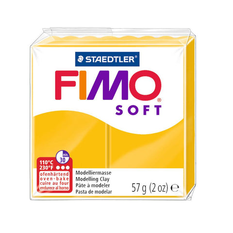 Fimo Soft Polymer 58g Clay Sunflower