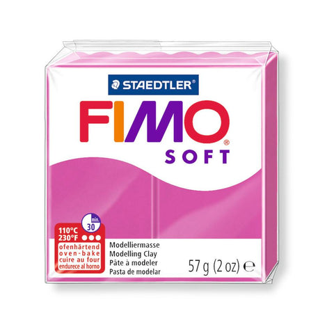 Fimo Soft Polymer 58g Clay Raspberry