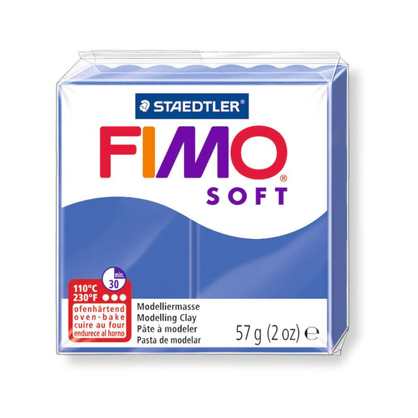 Fimo Soft Polymer 58g Clay Brilliant Blue