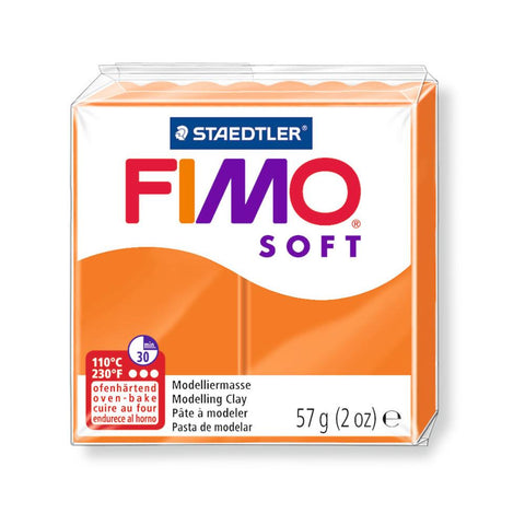 Fimo Soft Polymer 58g Clay Tangerine