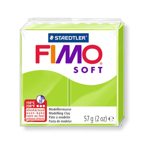 Fimo Soft Polymer 58g Clay Apple Green