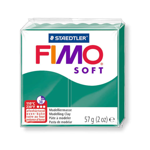 Fimo Soft Polymer 58g Clay Emerald