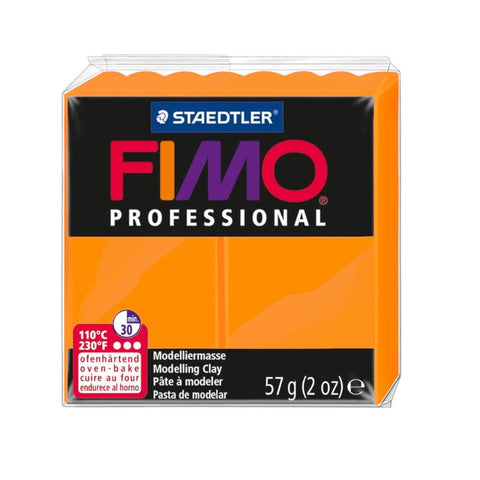 Fimo Professional Polymer Clay 57g Orange