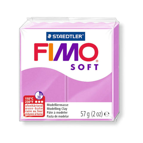 Fimo Soft Polymer 58g Clay Lavender