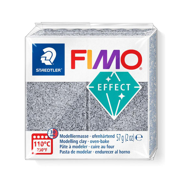 Fimo Effect Polymer Clay 57g Granite