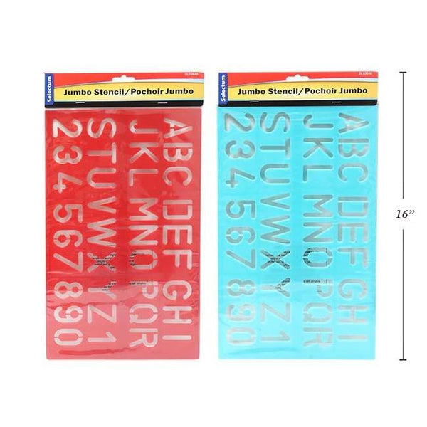 Midoco.ca: Selectum Letter and Number Stencils 1.5""