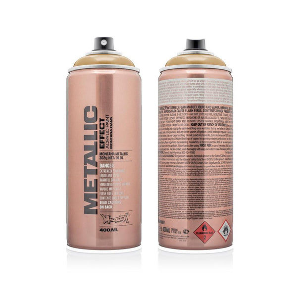 Midoco.ca: Montana METALLIC Effect 400mL Spray Paint - Gold