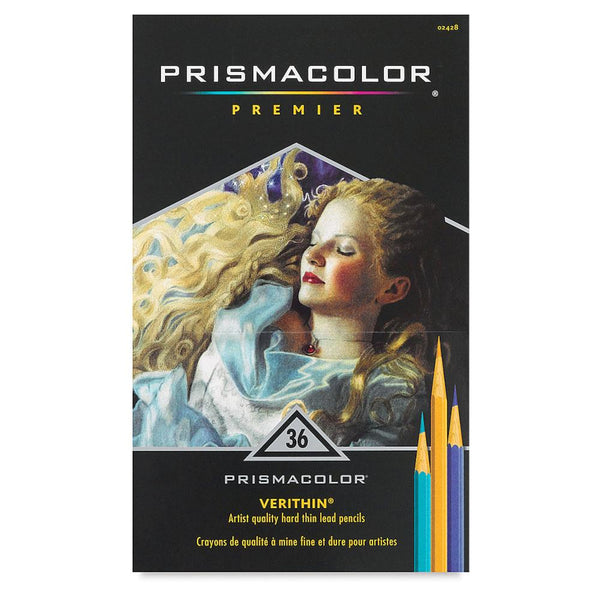 Midoco.ca: Prismacolor Verithin Coloured Pencils 36pk
