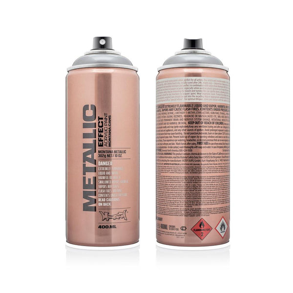 Montana Metallic Effect 400mL Spray Paint - Silver