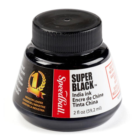 Midoco.ca: Speedball India Ink 2oz Super Black