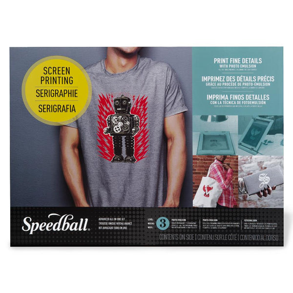 Midoco.ca: Speedball Advanced Screen Printing Kit