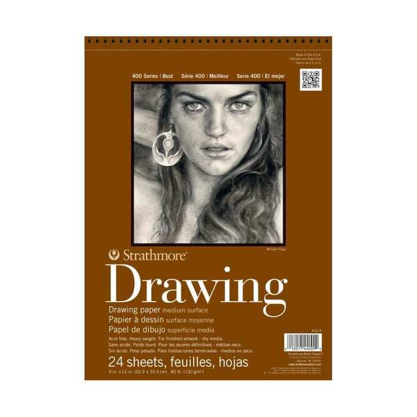 "Strathmore 400 Series Drawing Paper 6x8"" Pad"